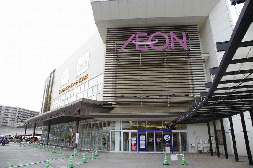 ショッピングセンター イオンモール奈良登美ヶ丘まで車で4分