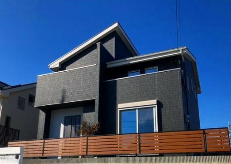現況外観写真 【5号地 外観】5号地は、建物の構造を見ることが出来るモデルハウスです。