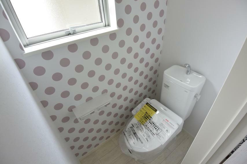 現況写真 ウォシュレット付きトイレ