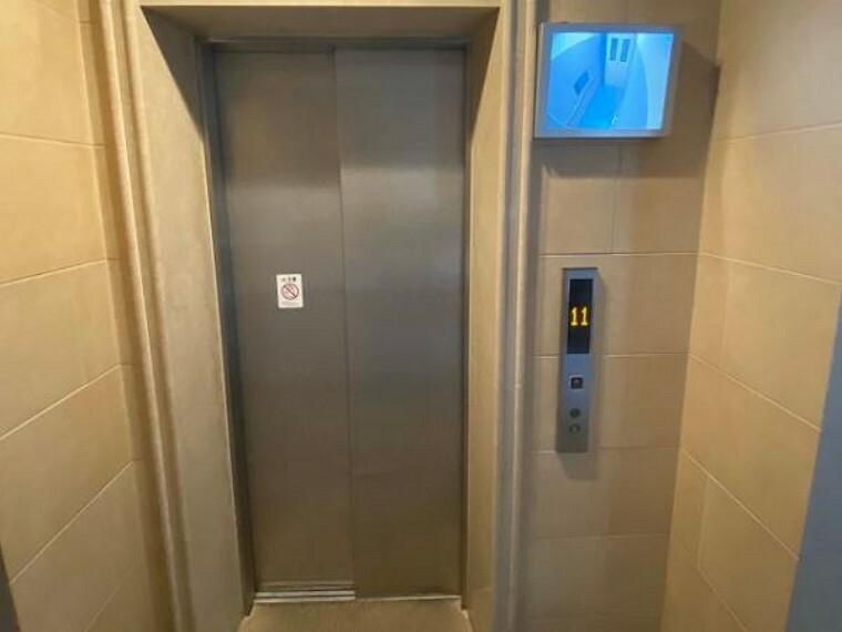 荷物が多い時や忙しい朝に便利なエレベーター完備