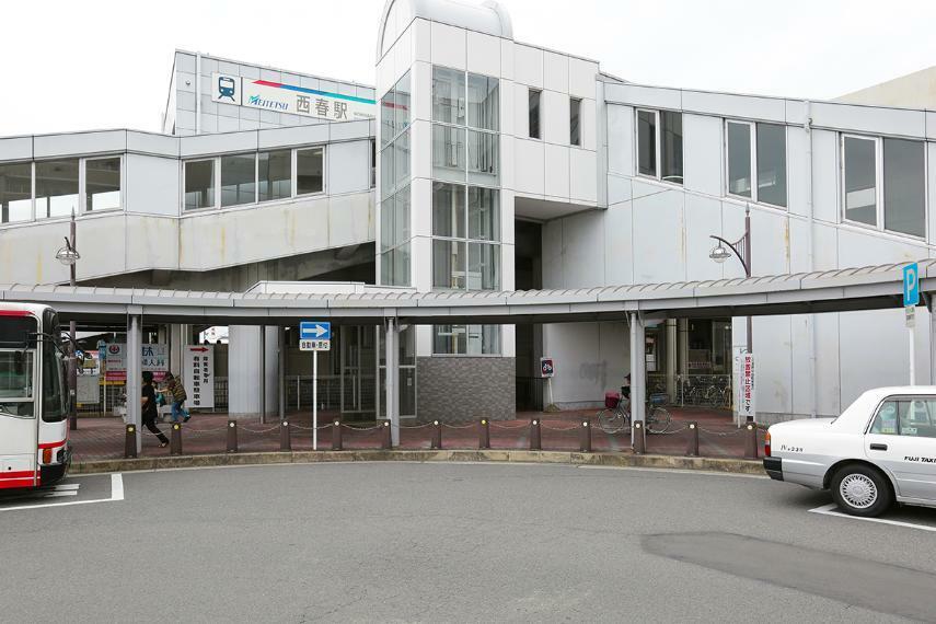名鉄犬山線「西春」駅