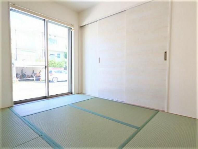 \同仕様写真/いぐさの香りがする和室は、客室としても使用でき、お子様のお昼寝にも使い方色々です!