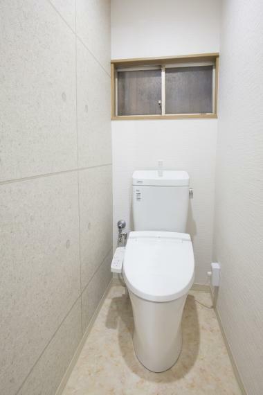 トイレ トイレはウォシュレット付!