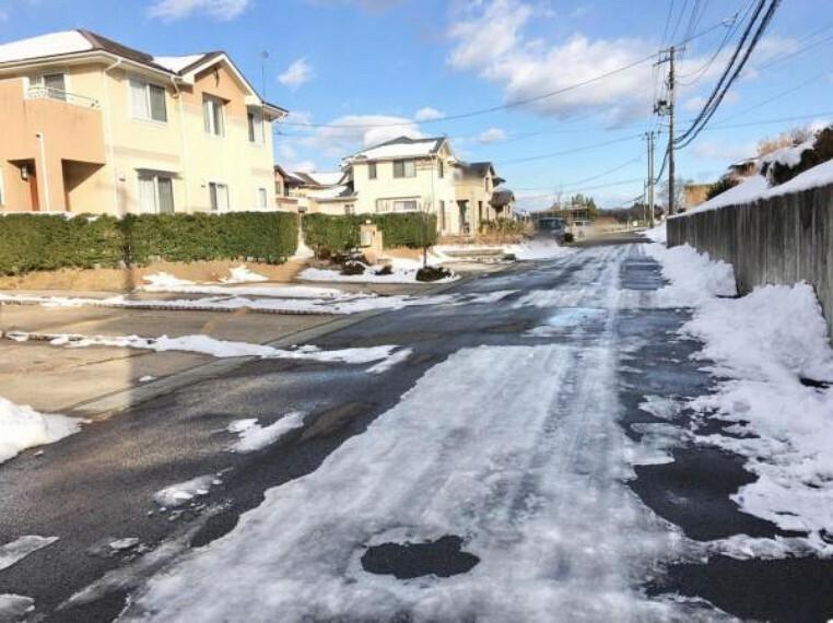 現況写真 <2020/12/21撮影>前面道路