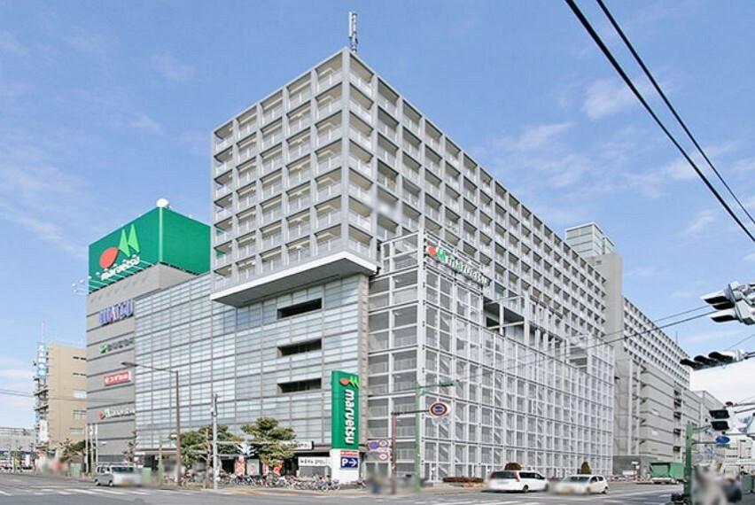 役所 岩槻区役所も入っている駅前の商業施設です