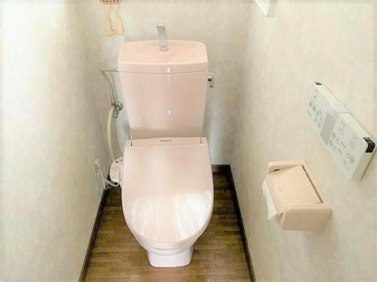 トイレ ウォシュレットトイレ交換済