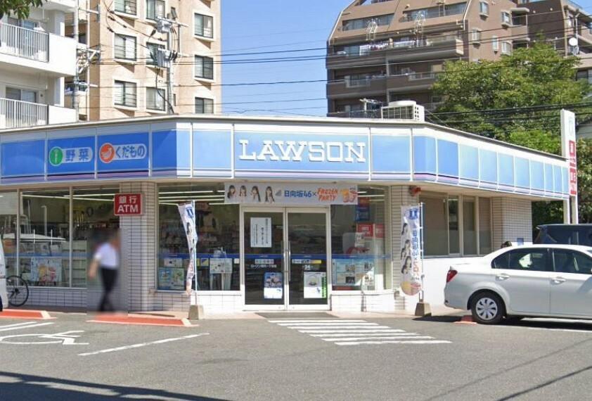 コンビニ 【コンビニエンスストア】ローソン 昭代一丁目店まで410m