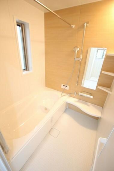 浴室 1坪サイズのゆったりした浴室で足を伸ばしておくつろぎ下さい。