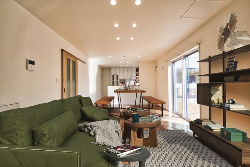 外観写真 (配置してある家具はCGによるイメージ)