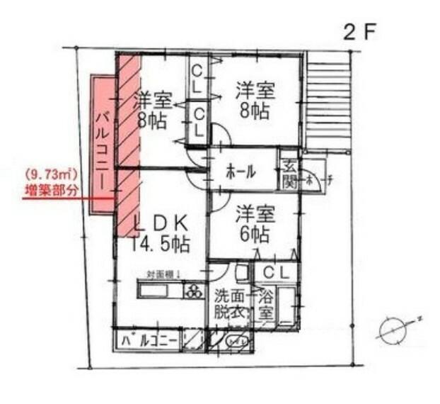 間取り図 ゆとりある土地42.54坪に快適3LDK。 大容量の物置付き。 2台駐車可能な安心の地下車庫付き。 利便性に優れた好立地。