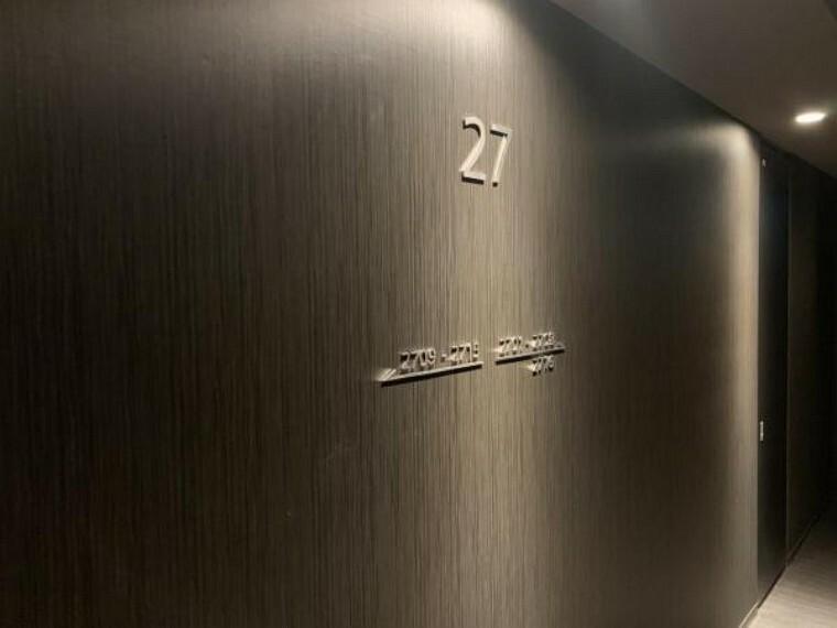 高級感のあるエレベーターホールです!