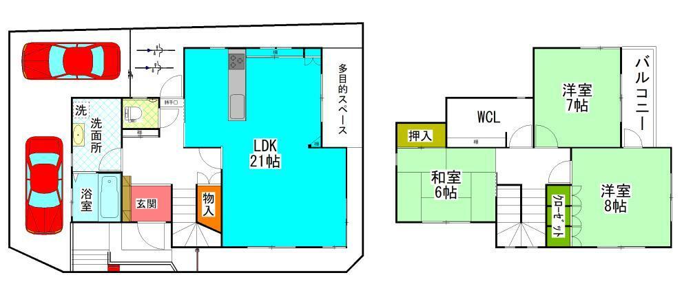 間取り図 3SLDK