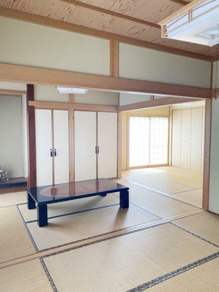 和室 1F6帖(床の間)