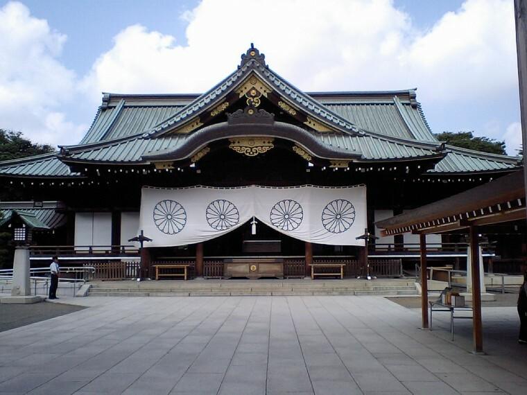 【寺院・神社】靖国神社まで651m