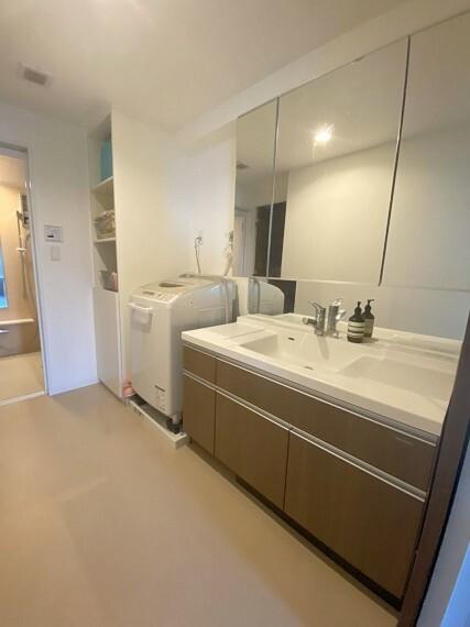 洗面化粧台 広さと機能性充実のシャンプードレッサー