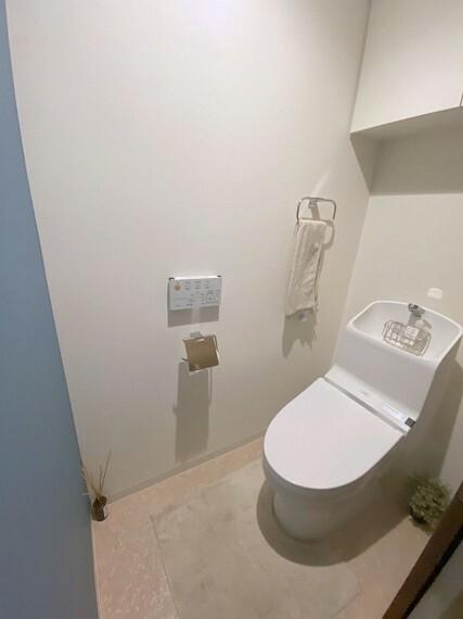 トイレ 快適なウォシュレット付きトイレ!