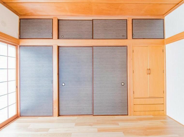 収納 大容量の収納スペースで住空間はスッキリ広々。