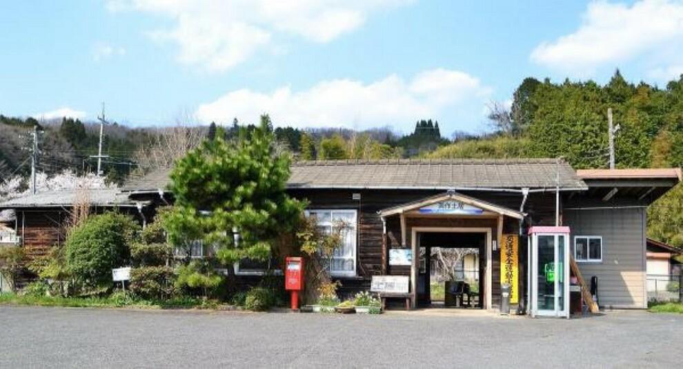 JR姫新線「美作土居」駅 約2200m