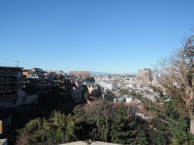 現況写真 B区画・C区画、2階相当の高さからの眺望