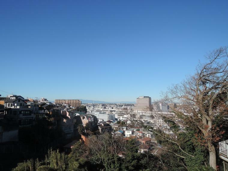 現況写真 高台立地につき眺望良好です。