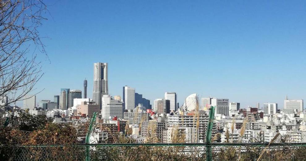 公園 高台からの景色が楽しめる唐沢公園
