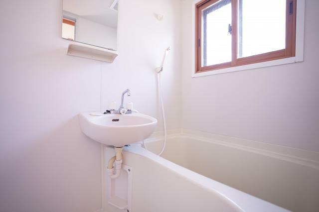 浴室 明るいバスルーム!