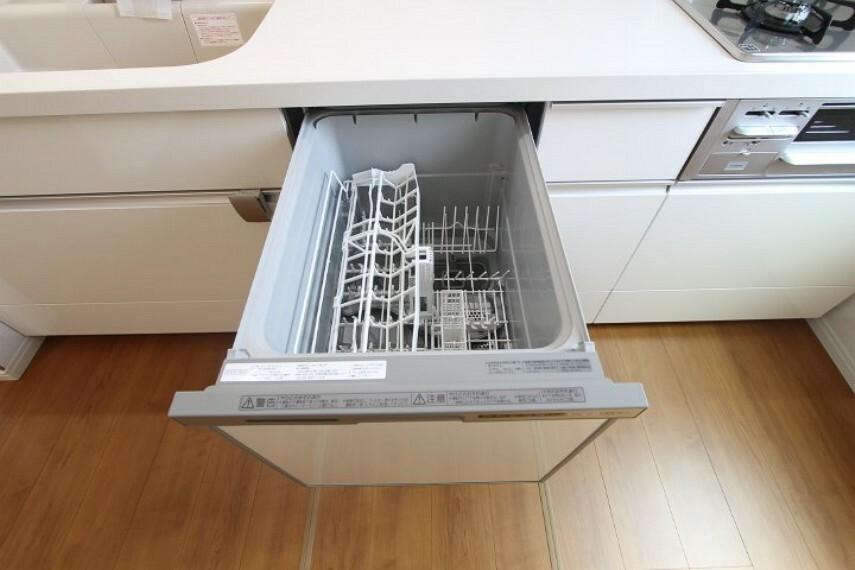 キッチン 施工例、食器洗浄乾燥機