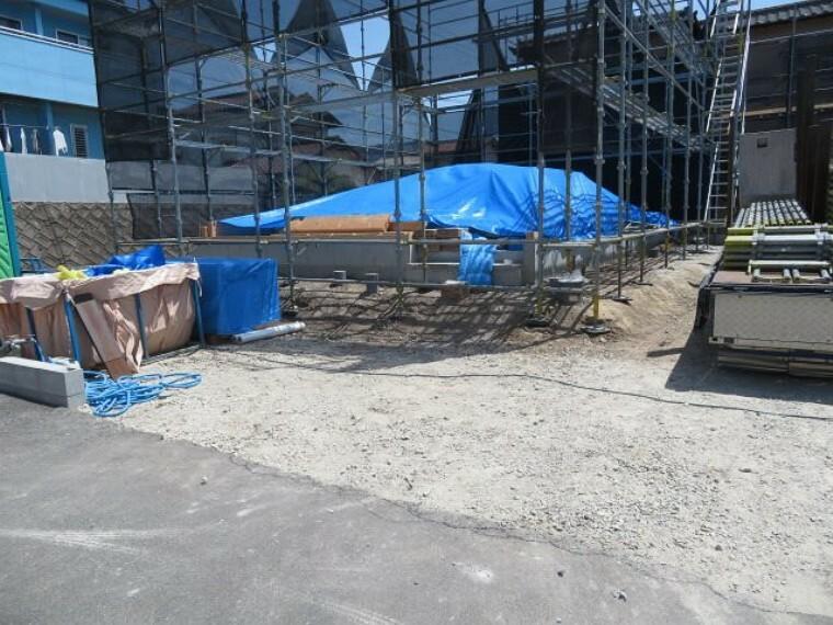 駐車場 2021年4月26日撮影