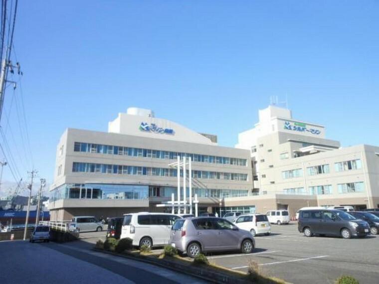 病院 海里マリン病院まで徒歩13分(約1km)近くに病院があればもしものときでも安心です。