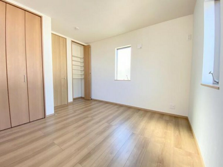 全居室フローリングでお掃除も簡単!