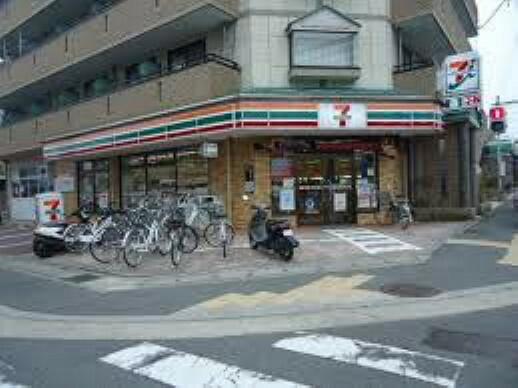 コンビニ 【コンビニエンスストア】セブンイレブン 京都西賀茂店まで835m
