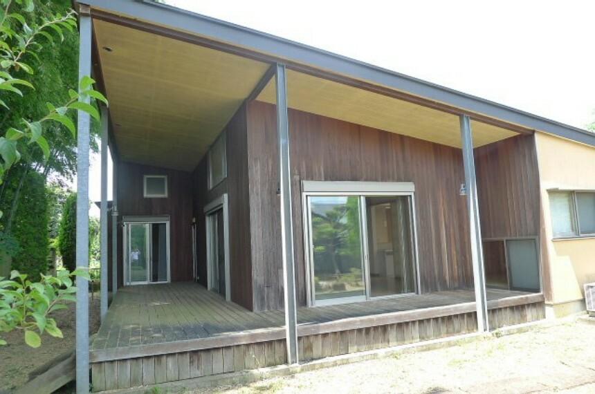 外観写真 デザイナーズハウス、3LDK平屋戸建