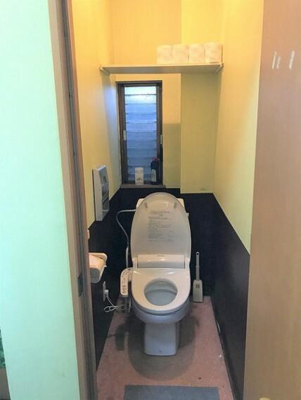 トイレ 温水洗浄便座付トイレ!