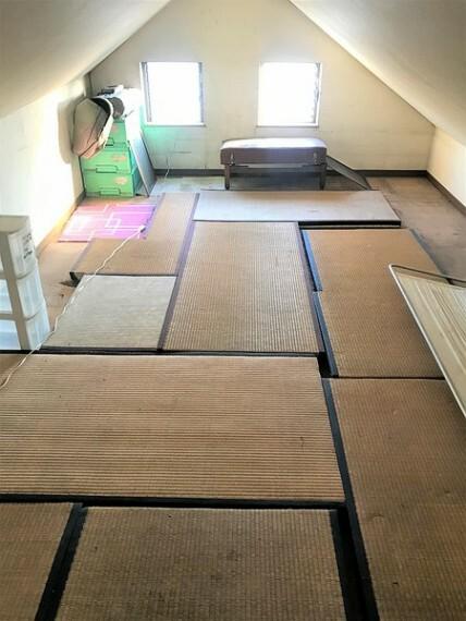 収納 約31.4帖の広い屋根裏収納つき!