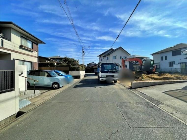 現況写真 前面道路:北東6.1m