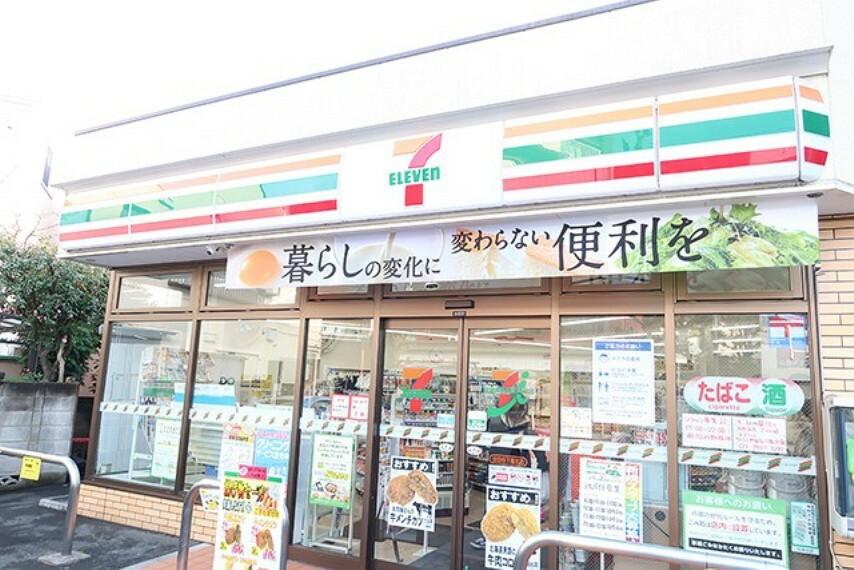 コンビニ セブンイレブン目黒油面店
