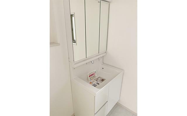 洗面化粧台 2階洗面化粧台