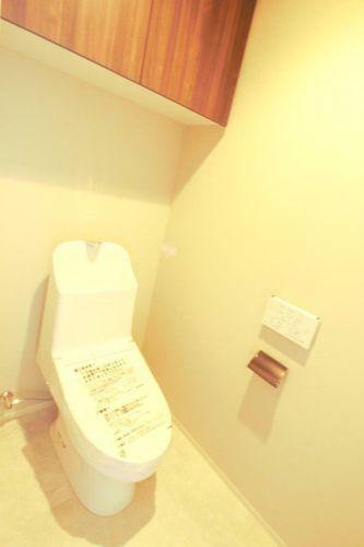 トイレ 収納も充実しています