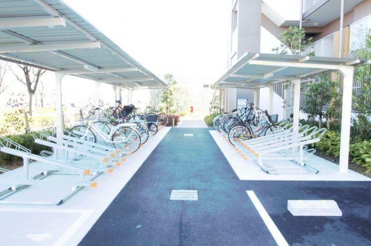 駐輪場 自転車置き場です