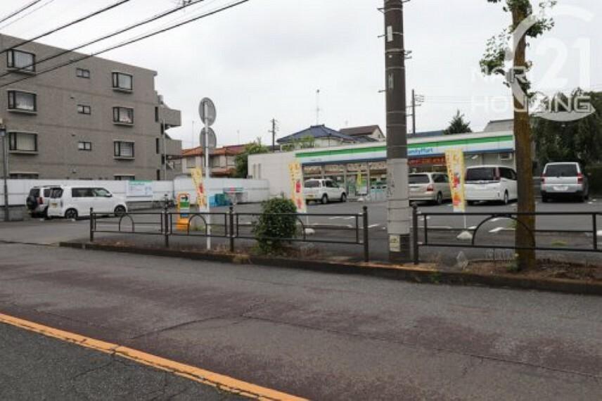 コンビニ 【コンビニエンスストア】ファミリーマート 羽村栄町二丁目店まで1503m