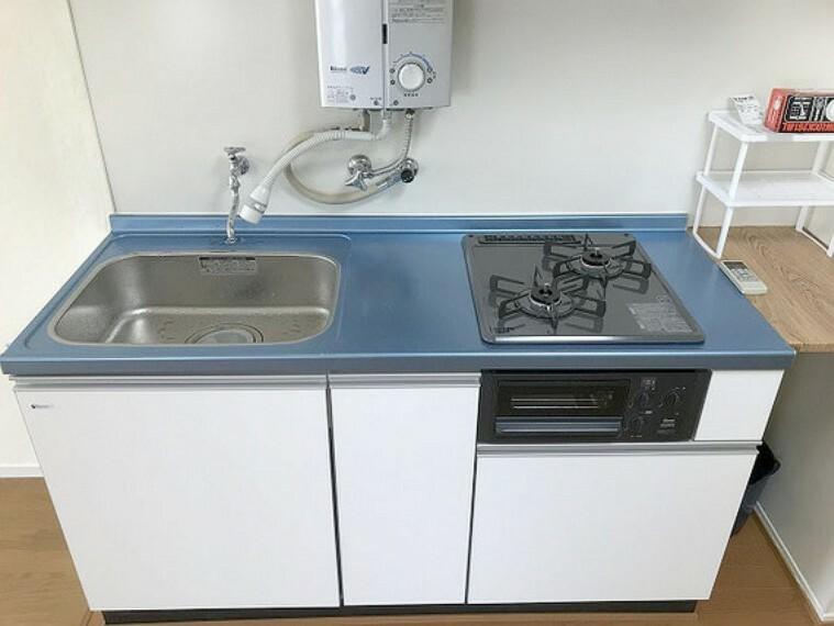 キッチン 【キッチン】掃除がしやすいキッチンです!ビルトインコンロ!
