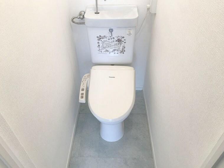 トイレ 【トイレ】ウォシュレットなので環境にもやさしく、便利ですね!