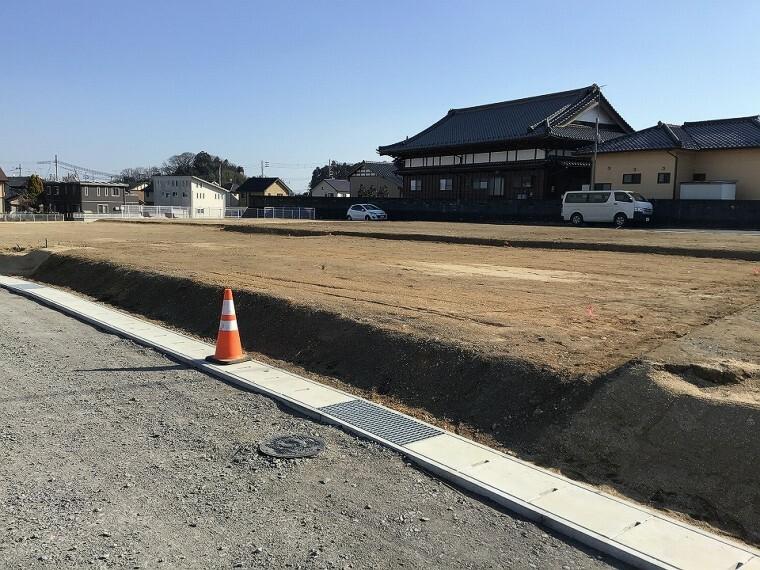現況写真 ■13号地(2021年1月撮影) 204.61平米(860万円)