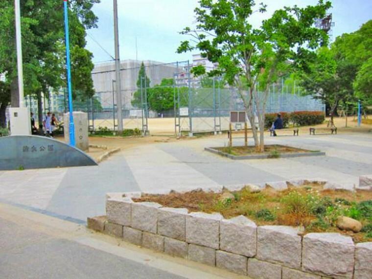 公園 蒲生公園 約2m 徒歩1分