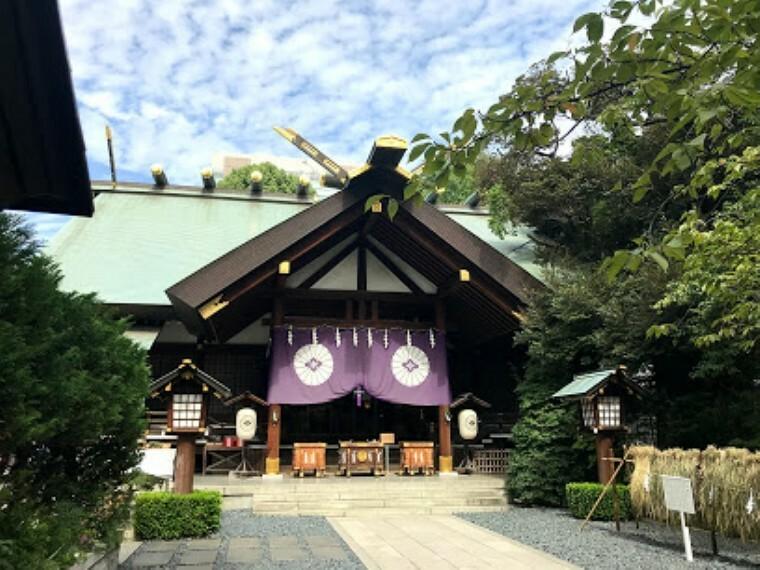 【寺院・神社】東京大神宮まで222m