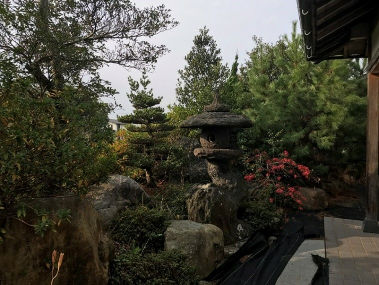 庭です。立派ですね!!