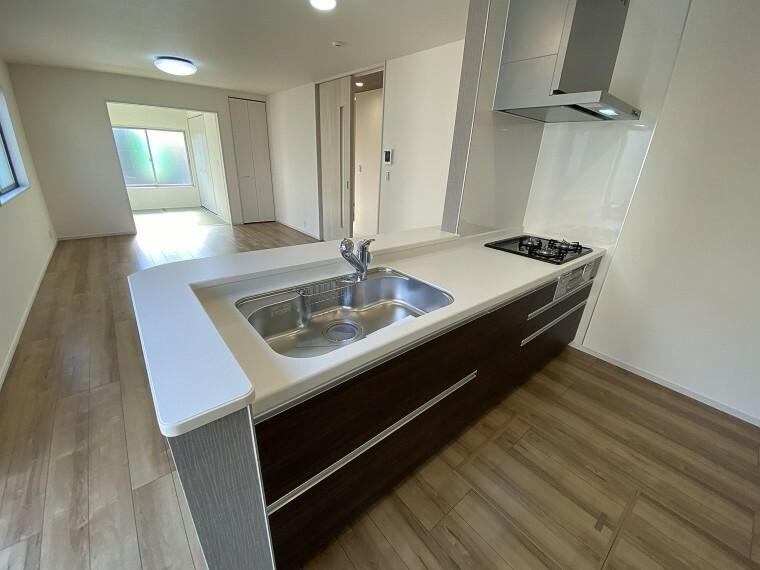 キッチン キッチン 現地写真2021.2.22撮影(同仕様写真・本物件の建物とは異なります)