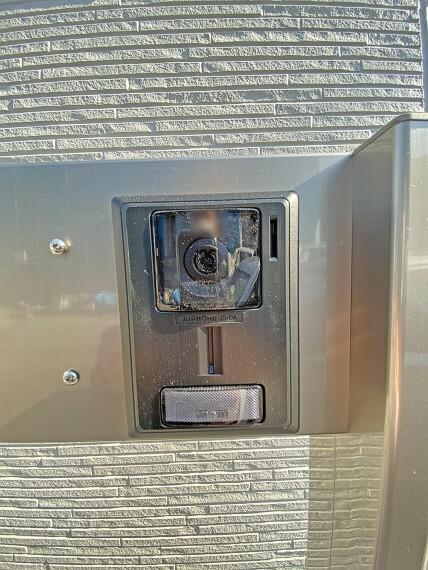 玄関 TVモニター付きインターホン(同仕様写真)現地写真2021.2.22撮影
