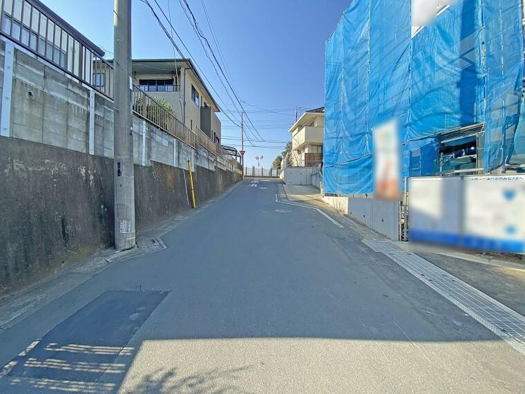 現況写真 前面道路 現地写真2021.2.22撮影