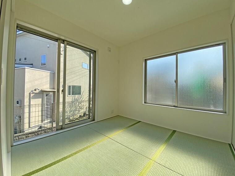 和室 和室 現地写真2021.2.22撮影(同仕様写真・本物件の建物とは異なります)
